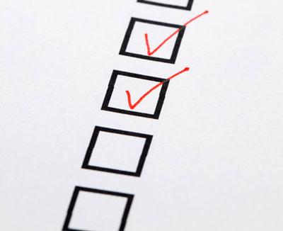 finding engineering contractors checklist